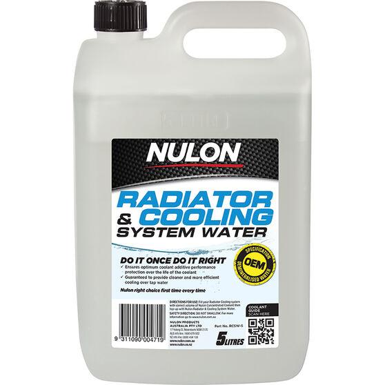 Nulon Radiator Cooling System Water 5 Litre, , scanz_hi-res