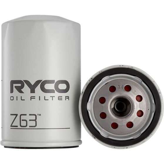 Ryco Oil Filter - Z63, , scanz_hi-res