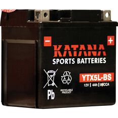 Katana Powersports Battery YTX5L-BS, , scanz_hi-res