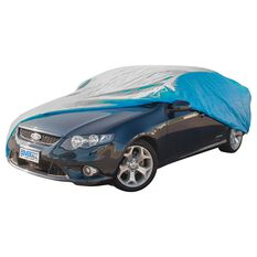 CoverALL Car Cover Silver Protection - Water Resistant, Extra Large, , scanz_hi-res