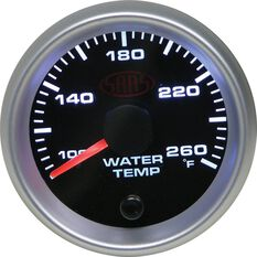 SAAS Water Temperature Gauge - Black, 52mm, , scanz_hi-res