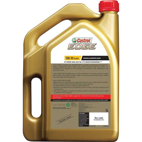 Castrol EDGE Engine Oil - 5W-30, A3/B4, 5 Litre, , scanz_hi-res