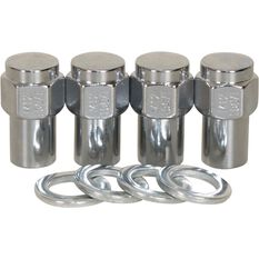 Calibre Wheel Nuts, Shank, Chrome - MN12150, 12mm x 1.5mm, , scanz_hi-res