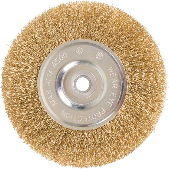 ToolPRO Wire Wheel Brush - 6 inch, , scanz_hi-res