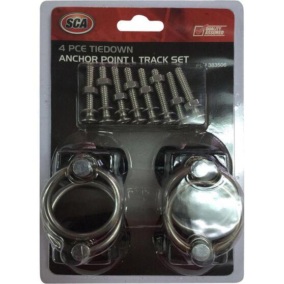 SCA Anchor Point,  Track - 340kg, 4 Pack, , scanz_hi-res