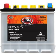 SCA Battery - Heavy Duty, G46, 350 CCA, , scanz_hi-res