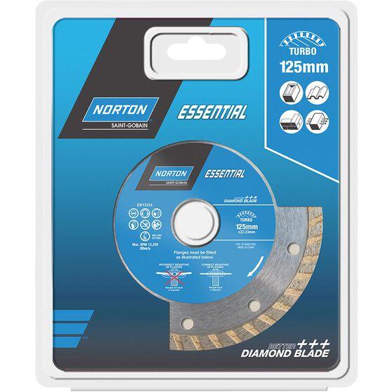 Norton Diamond Blade - Turbo, 125mm, , scanz_hi-res