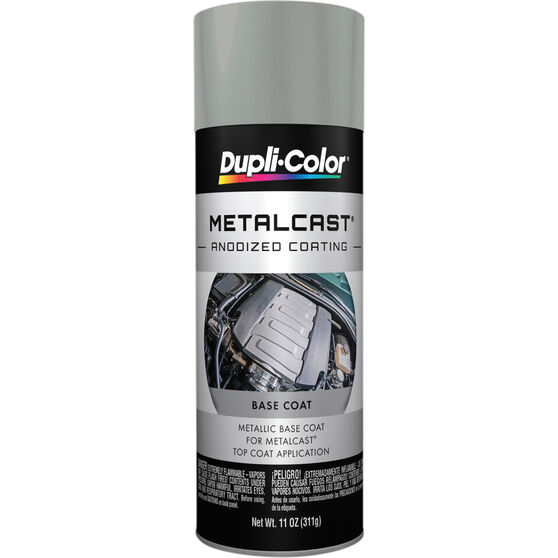 Dupli-Color Metalcast Aerosol Paint - Enamel, Grey Metalic Ground Coat, 311g, , scanz_hi-res