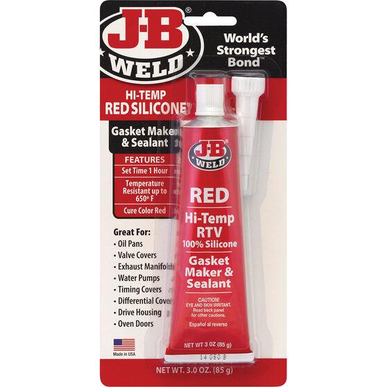 JB Weld Red Hi-Temp RTV Gasket Maker and Sealant 85g, , scanz_hi-res