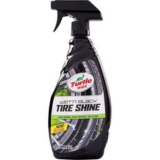 Turtle Wax Wet 'N' Black Tyre Shine - 680mL, , scanz_hi-res