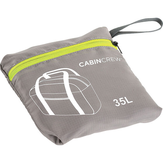 Cabin Crew Glovebox Duffle Bag - 35L Grey/Green, , scanz_hi-res