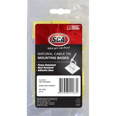 SCA Cable Tie Mounts - Large, 25 Pack, , scanz_hi-res