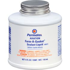 Permatex Aviation Form-A-Gasket Sealant Liquid, No. 3 -  118mL, , scanz_hi-res