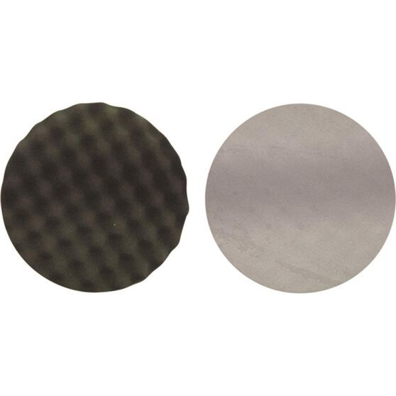 Polishing Pad - Wave Foam, Hook & Loop, 200mm, , scanz_hi-res