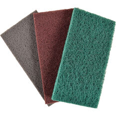 Velocity Scouring Pads, 3 Pack - 115 x 225mm, , scanz_hi-res