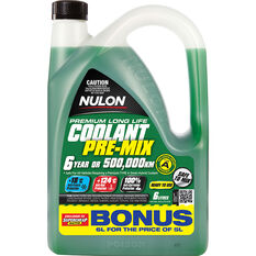 Nulon Anti-Freeze / Anti-Boil  Green Premix Coolant - 6 Litre, , scanz_hi-res