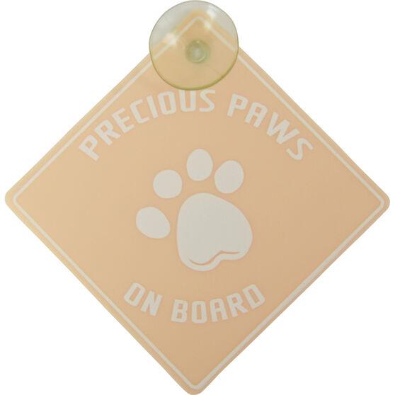 Precious Paws on Board Car Sign, , scanz_hi-res