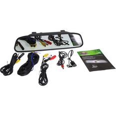 """SCA SCA43M 4.3"""" Mirror Mounted Wired Reversing Camera, , scanz_hi-res"""