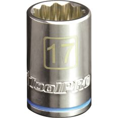 ToolPRO Single Socket - 1 / 2 inch Drive, 17mm, , scanz_hi-res