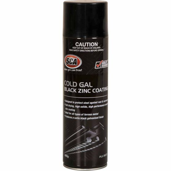 SCA Cold Gal Black Zinc Coating 400g, , scanz_hi-res