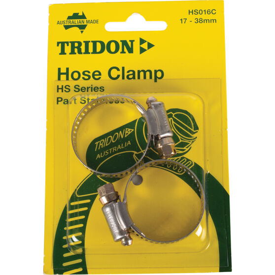 Tridon Hose Clamps - Part Stainless, 17-38mm, 2 Pieces, , scanz_hi-res