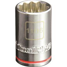 "ToolPRO Single Socket 1/2"" Drive 11/16"", , scanz_hi-res"