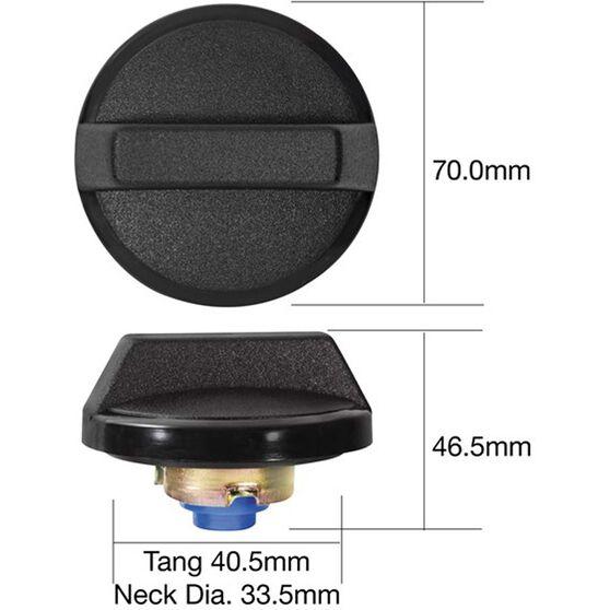 Tridon Non-Locking Fuel Cap - TFNL210, , scanz_hi-res