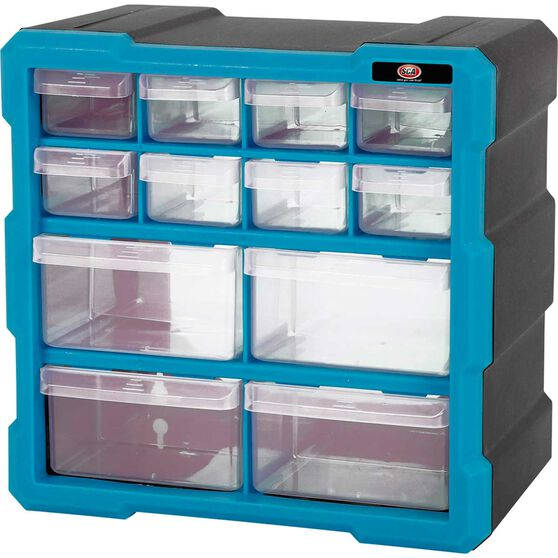SCA Organiser - Blue, 12 Drawer, , scanz_hi-res