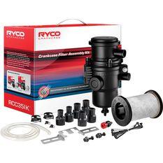 Ryco Crankcase Filter Assembly Kit - RCC351K, , scanz_hi-res