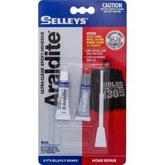 Selleys Araldite - Ultra Clear, 8mL, , scanz_hi-res