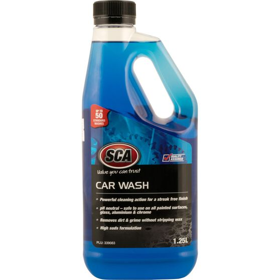 SCA Concentrate Car Wash - 1.25 Litre, , scanz_hi-res