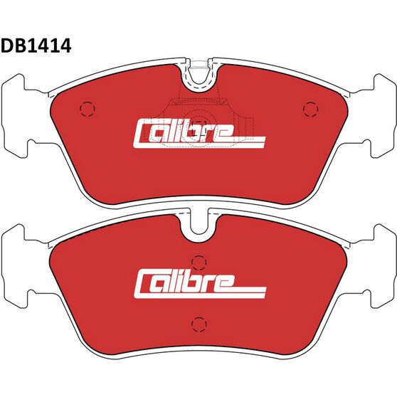 Calibre Disc Brake Pads - DB1414CAL, , scanz_hi-res
