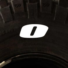 Tire Stickers - Letter O, , scanz_hi-res