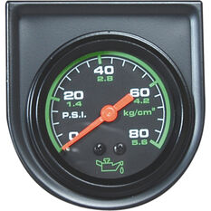 Trisco Oil Pressure Gauge - Mechanical, 52mm, , scanz_hi-res