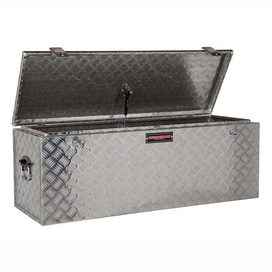 Thunderbox Tool Box - Aluminium Checkerplate, 180 Litre, , scanz_hi-res