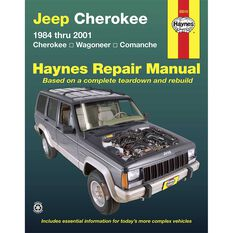 Haynes Car Manual For Jeep Cherokee 1984-2001 - 50010, , scanz_hi-res
