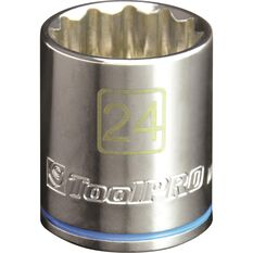 "ToolPRO Single Socket 1/2"" Drive 24mm, , scanz_hi-res"