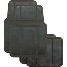 Best Buy Car Floor Mat - Black, Set of 4, , scanz_hi-res