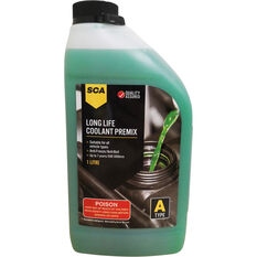 SCA Long Life Green Coolant Premix 1 Litre, , scanz_hi-res