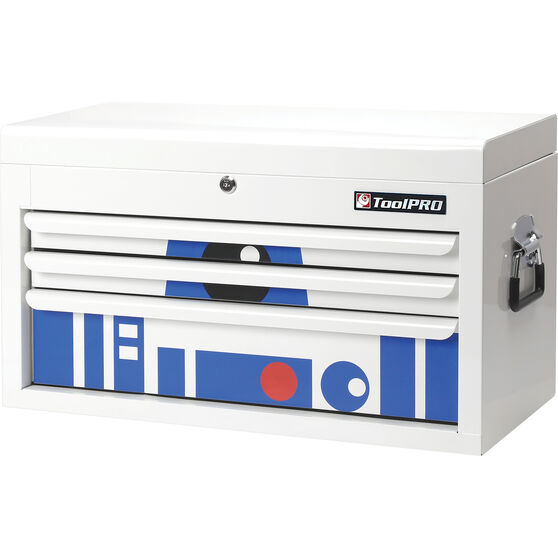 """ToolPRO Tool Chest 26"""", Limited Edition, Robot Design, 3 Drawer, , scanz_hi-res"""