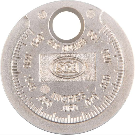 SCA Spark Plug Gap Gauge - Coin, , scanz_hi-res