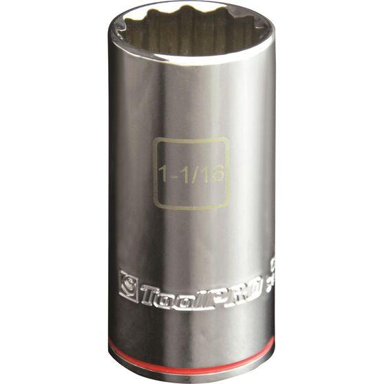 ToolPRO Single Socket - Deep, 1 / 2 inch Drive, 1-1 / 16 inch, , scanz_hi-res