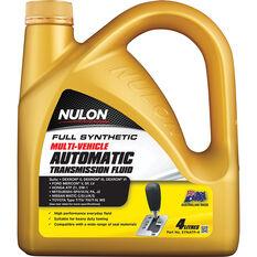 Nulon ATF Multi Vehicle Automatic Transmission Fluid 4 Litre, , scanz_hi-res