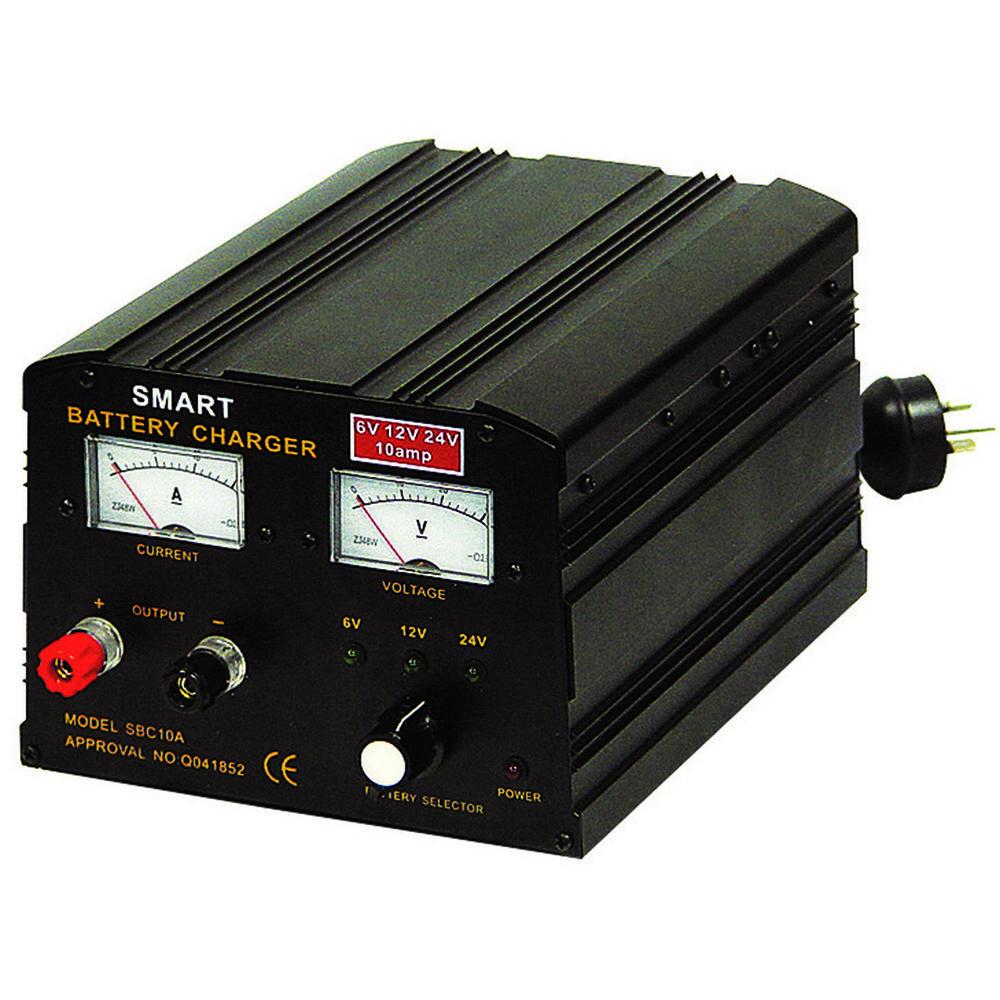 Calibre Smart Battery Charger 6 12 24v 10 Amp Supercheap 6v To 12v Wiring Diagram Scanz Hi