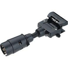 Trailer Adaptor - 7 Pin large round to 7 Pin flat, , scanz_hi-res