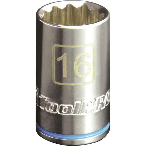 ToolPRO Single Socket - 1 / 2 inch Drive, 16mm, , scanz_hi-res