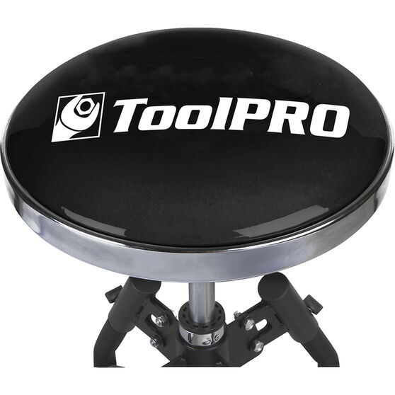 ToolPRO Adjustable Workshop Stool - Black, , scanz_hi-res