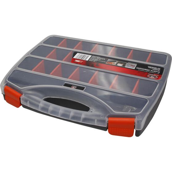 SCA Plastic Organiser - 12.5in, 21 Compartment, , scanz_hi-res
