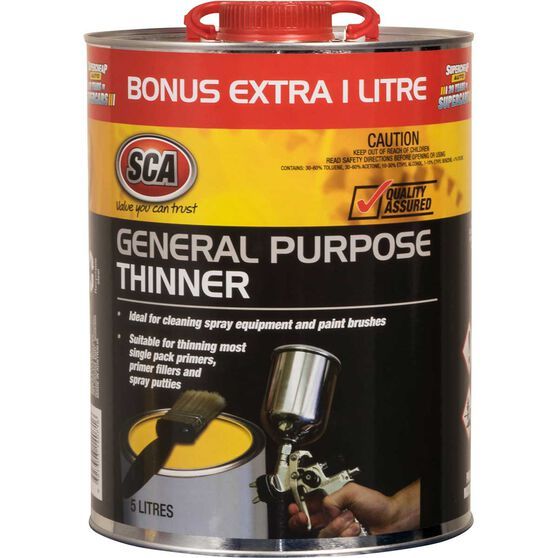 General Purpose Thinner - 5 Litre, , scanz_hi-res
