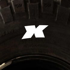 Tire Stickers - Letter X, , scanz_hi-res